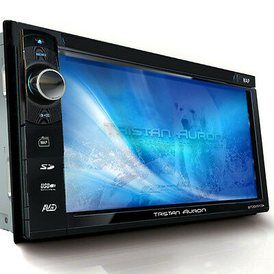 AUTORADIO MIT DAB+ Navigation Bluetooth Navi TOUCHSCREEN DVD MP3 USB Doppel 2DIN