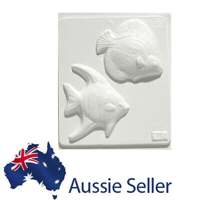 Two fish Plaster Mould/Mold/Moulds/Molds 2143