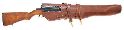 US WW2 M1 Garand Leather Scabbard marked JT&L 1944 (scabbard only)