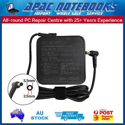 Tip:5.5x2.5mm Genuine Power AC Charger for ASUS ADP-90YD B EXA1202YH PA-1900-42