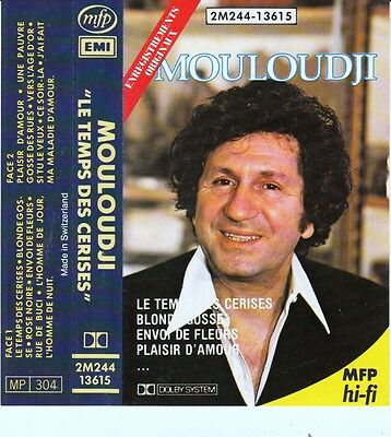 K 7 Audio (Tape)   Mouloudji  *Plaisir D'amour*  (Made In Switzerland)