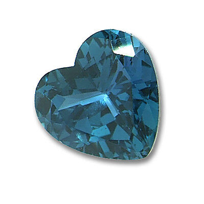 Lab-Created Pulled Alexandrite Color Change Heart Loose stone (3x3mm - 25x25mm)