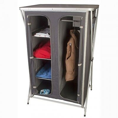 Kampa Maddie Double Instant Folding Camping Wardrobe / Cupboard - WAS £89.99