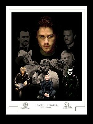Heath Ledger Montage Print