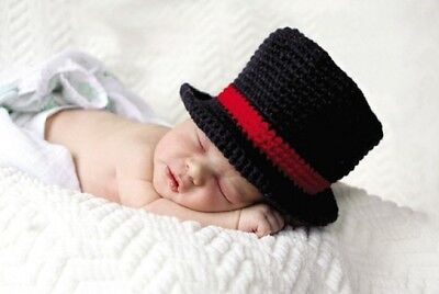 Mud Pie My First Christmas Newborn Photography Prop Knit Top Hat