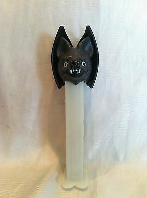 Collectible 2008 Glow in the Dark Pez Dispenser Dracula Bat, No Packaging