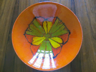 Impressive Large POOLE POTTERY Delphis Bowl Centrepiece No 58