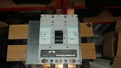 Hager H630N 630A To 500A Adjustable 3 Pole Mccb Main Switch Circuit Breaker 630A