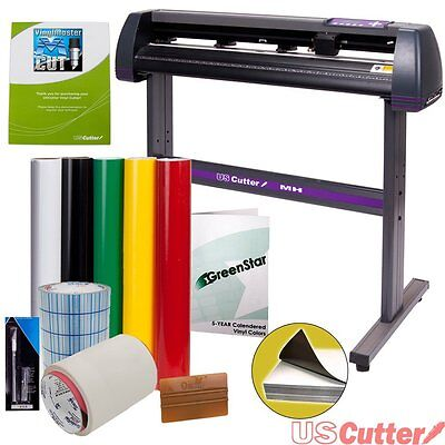 Sign Making Kit Vinyl Cutter w/ Design & Cut Software 34 inch Supplies Tools