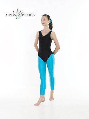 Girls Nylon Lycra Tappers & Pointers Footless Ballet/Dance Tights All Colours