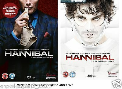 HANNIBAL COMPLETE SERIES 1 and 2 DVD BOX SET ALL EPISODES LECTER SEASON SEALED