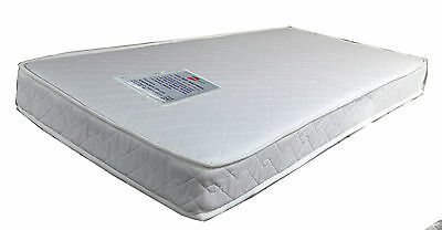 New Inner Spring Cot Crib Baby Bed Mattress 100% Cotton Cover Australian Made
