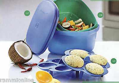 Tupperware Microwave Idli Maker (Multi Cook Server,Strainer, 1Tray And Spoon)