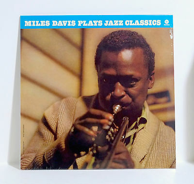 MILES DAVIS Miles Plays Jazz Classics VINYL LP Sealed Bonus Track John Coltrane