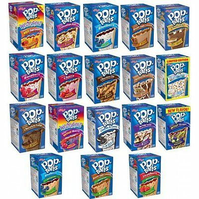 KELLOGG'S POP TARTS TOASTER PASTRIES  Frosted or Unfrosted LIMITED EDITION