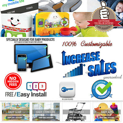 Professional eBay Store Design, Listing Template Camera, Clean Responsive Design