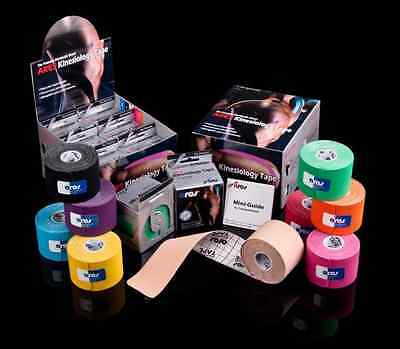 Ares Tape - Precut - Uncut - Kinesiology Tape PRO - Elastic Sports - Support KT