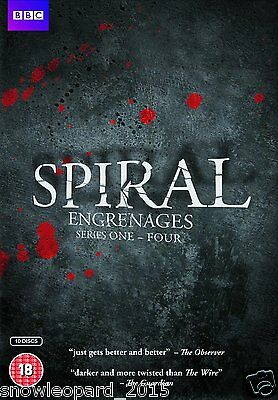 SPIRAL COMPLETE SERIES 1 2 3 4 DVD All Episodes Seasons Brand New Sealed UK