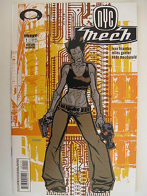 *NYC MECH 1-6 (of 6) BETA LOVE 1-6 (of 6) COMPLETE SET $36 CVR (all nm-/m)