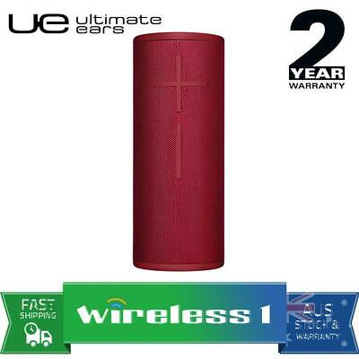 UE Ultimate Ears BOOM 3 Wireless Bluetooth Speakers Sunset Red