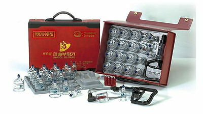 Hansol Bu-Hang Full Body Massage Health Professional Cupping Set 19 PCS  cup