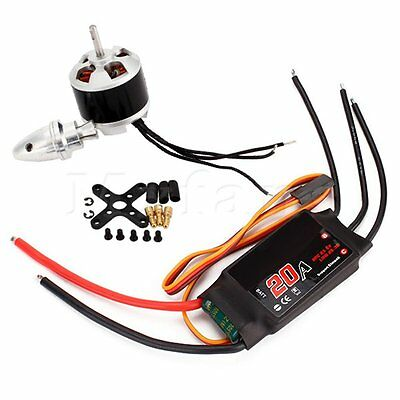 1 Combo With Emax XA2212 820KV Brushless Motor And Simonk 20A ESC