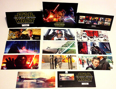 STAR WARS The Force Awakens Mini Poster Card Limited 999 Sets