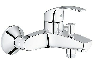 GROHE 33300002 Eurosmart Single-Lever Bath/Shower Mixer Tap Wall Mounted (wit...