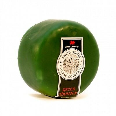 Snowdonia Green Thunder 200g Cheese Truckle x 6