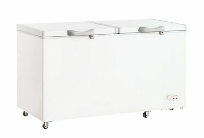 600 Litre Commercial CHEST FREEZER Food Storage With Lock Security RRP $1499.00