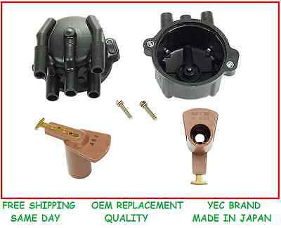 NEW YEC DISTRIBUTOR CAP & ROTOR MADE IN JAPAN fits 85-89 TOYOTA MR2 4AGE NA AW11
