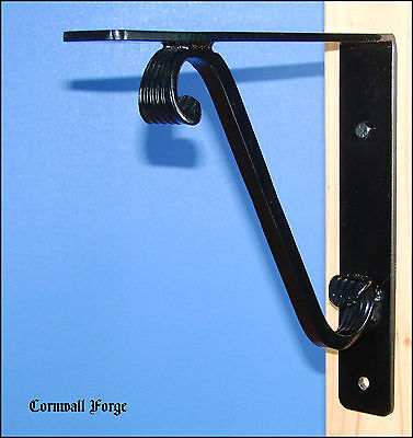 "Wrought Iron Bracket - Corbels Granite - Marble  - Mantel Shelf Support 12""x12"""