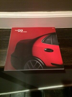 2004 04 Saab 93 Sport  Sedan original sales brochure