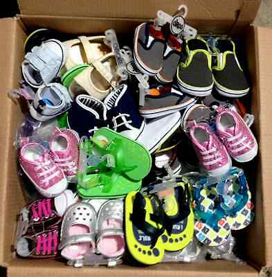 Baby Boys & Girls shoes all new / Wholesale Box 100pc