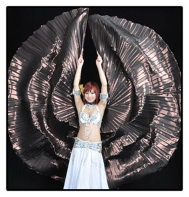 Belly Dance Costume 360°Isis Wings Egyptian Egypt Stage Performance Dance Wear