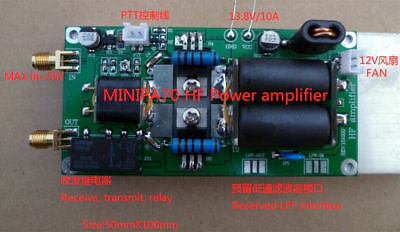 MINIPA 70 FT-817 HF Amplifier Power Amplifier 70w High Frequency Power Amplifier