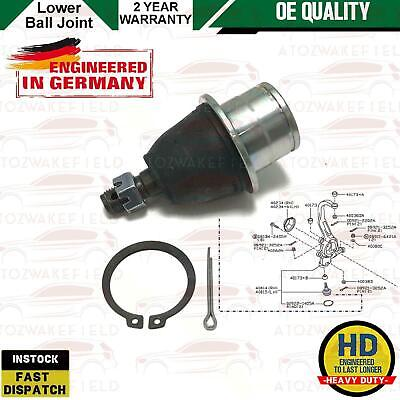 For Nissan 350Z 350 Fairlady 03-09 Front Lower Bottom Suspension Arm Ball Joint