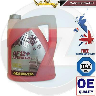 Longlife Red Concentrated Antifreeze Coolant 5L 5 Years Extended Life Car Plan