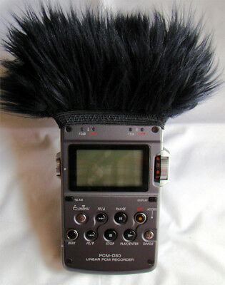 FUR WINDSCREEN 4 YOUR SONY PCM-D50, Sony PCM D100 or Olympus LS-100 Recorder