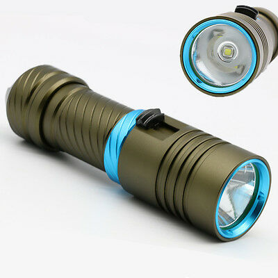 TOP CREE XML L2 1600Lm LED Taschenlampe Tauchlampe Dive Lamp Flashlight Torch