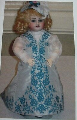1908 Blue Dress Kit For Bleuette