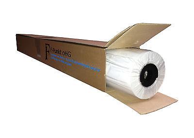(0,57€/m²) Plotterpapier transparent / 1 Rolle / 90 g/m², 914 mm breit, 50 m l