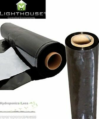 BLACK & WHITE Mylar reflective sheeting film roll hydroponics grow kit 2 to 100m