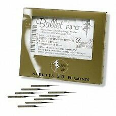Ballet Gold Plated Needles G3 (50)