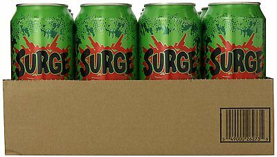 Surge Soda Pop 12 count 16 oz made by Coke