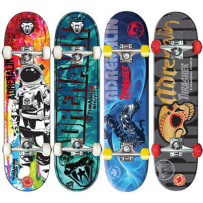 "ADRENALIN THRASHER CANADIAN SKATEBOARD 31"" x 8""  - CHOICE OF 2 STYLES"