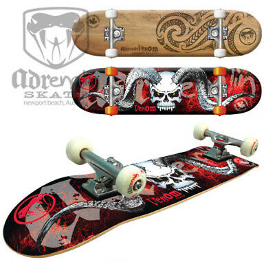 "ADRENALIN VENOM HIGH SPEC SKATEBOARD 31"" x 8""  - CHOICE OF 2 DESIGNS"