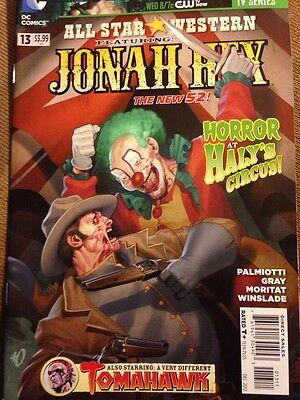 DC Comics-The New 52-All Star Western Feat Jonah Hex- Lot of 8