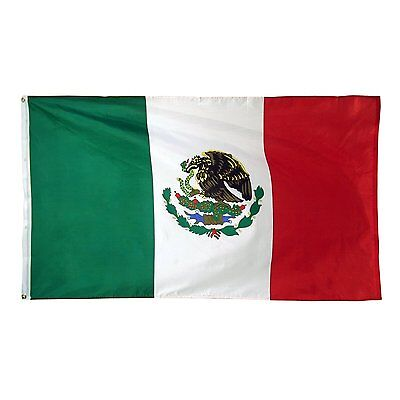 Mexican Banner Pennant Mexico Flag 3 x 5 foot feet