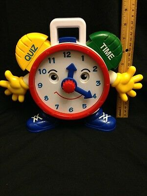 Navystar Electronic Talking Educational Teaching Telly Quiz And Time Clock Works